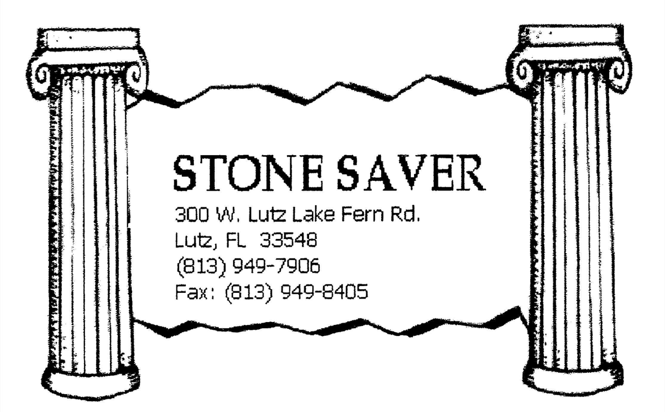 Stone Saver